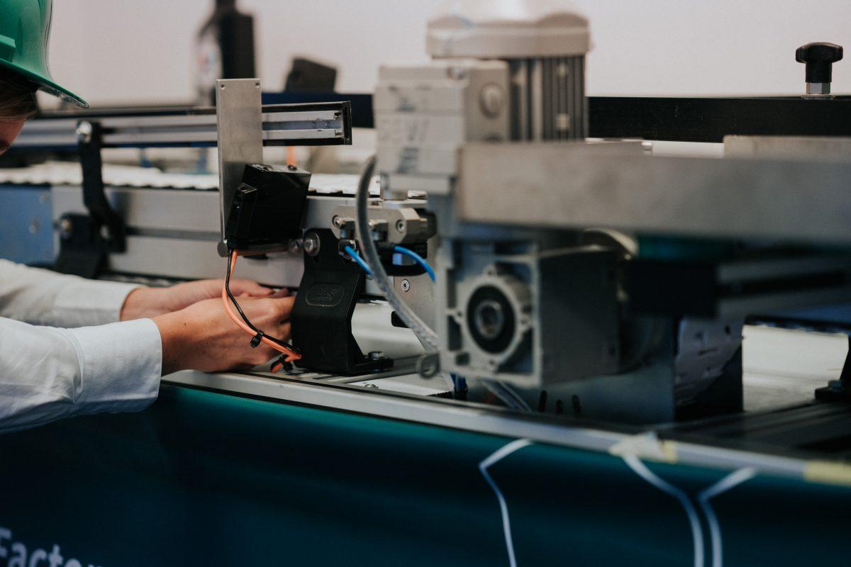 Factory 4 Future - Aan de slag productielijn sensoren